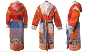 renaissance hooded bathrobe from bathrobe company
