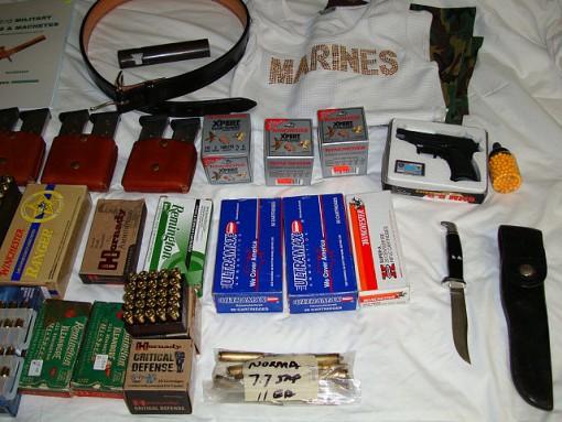gun show haul