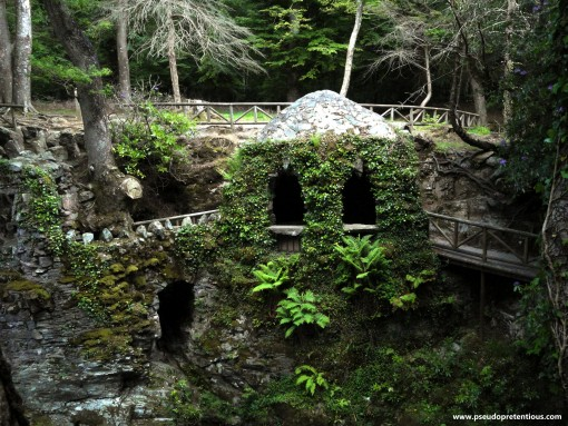 A slightly closer photo of the Hermitage on the Shimna River
